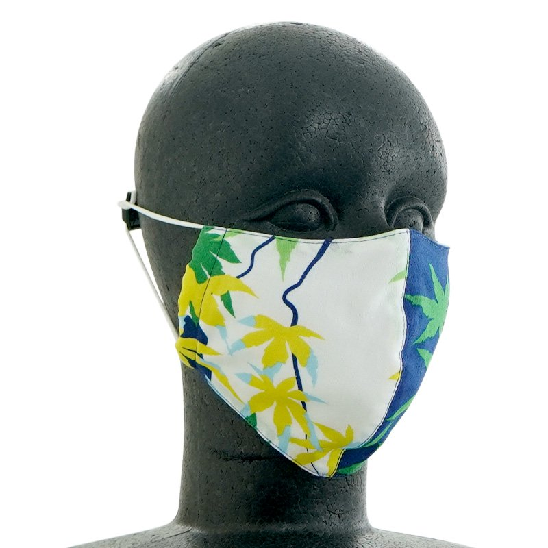 手ぬぐい立体マスク 「楓」
