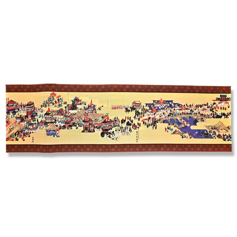 手ぬぐい 「祇園祭絵図」