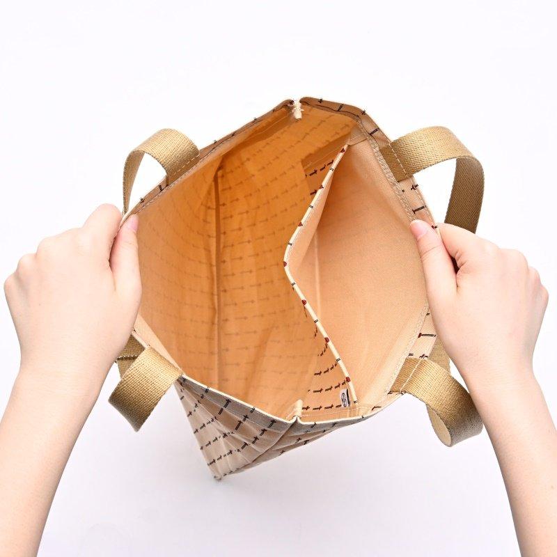 帆布カバン 「フラットトート」(縦型)