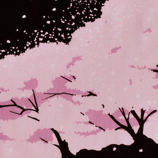 町家手拭 「桜並木」