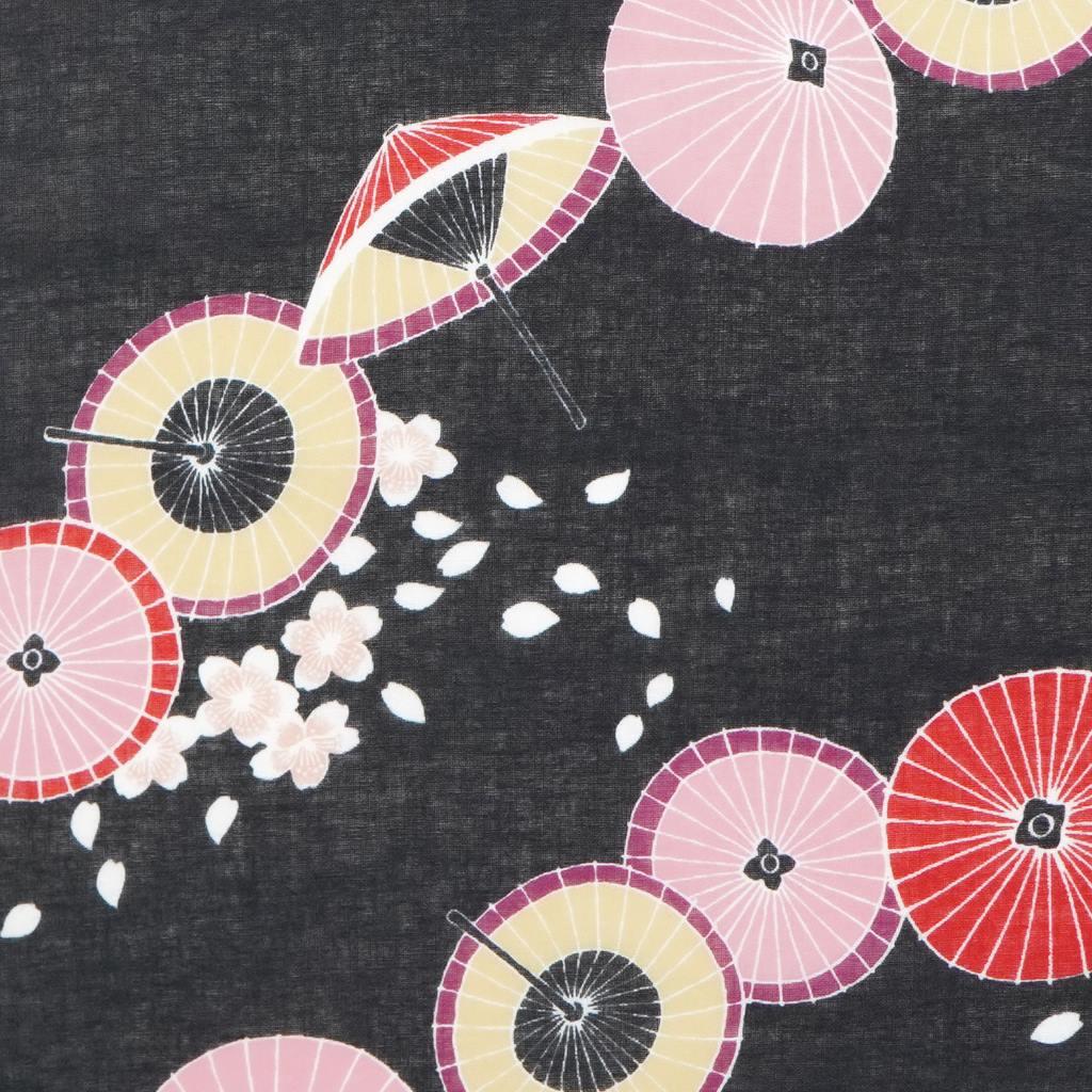 ガーゼ90㎝ 「桜花番傘」