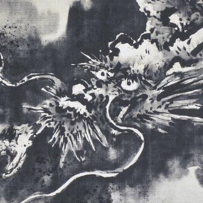 大風呂敷 「雲龍図」/狩野探幽