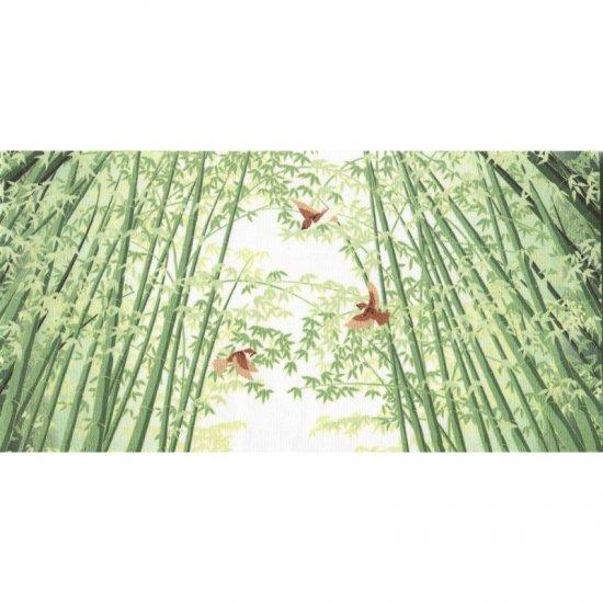 クリーニングクロス(小)「竹林に雀」