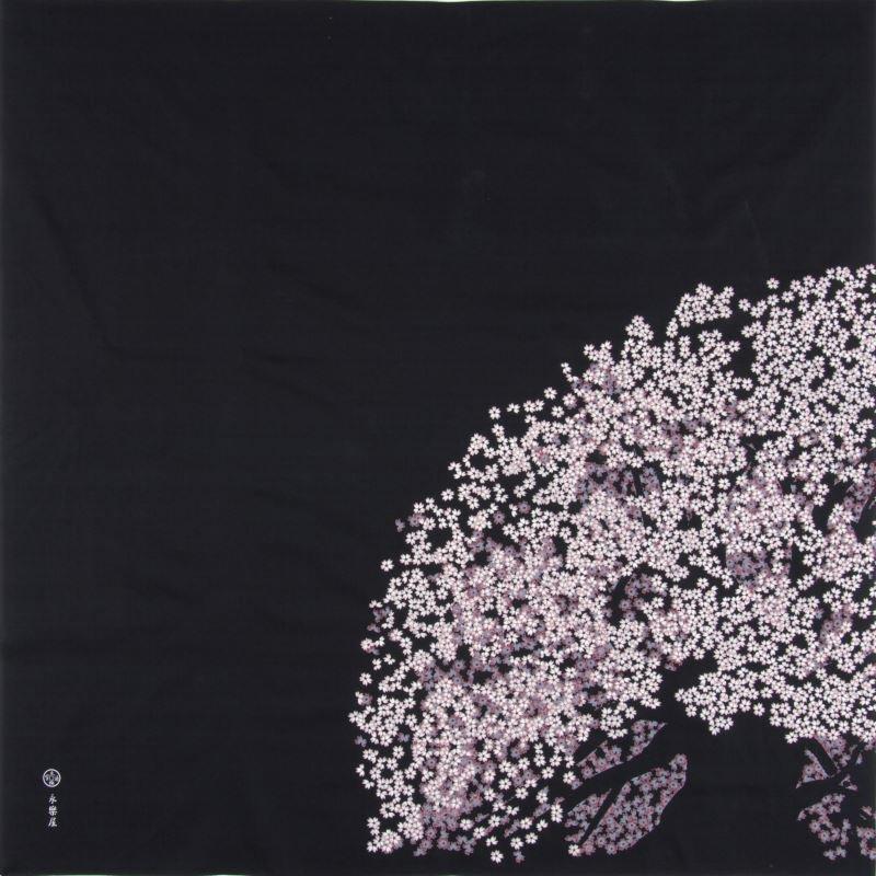 大風呂敷 「老い桜」