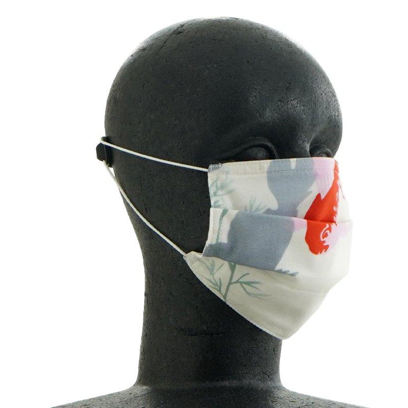 手ぬぐいマスク(三層) 「きんぎょ」
