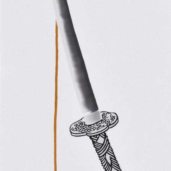 町家手拭 「刀」