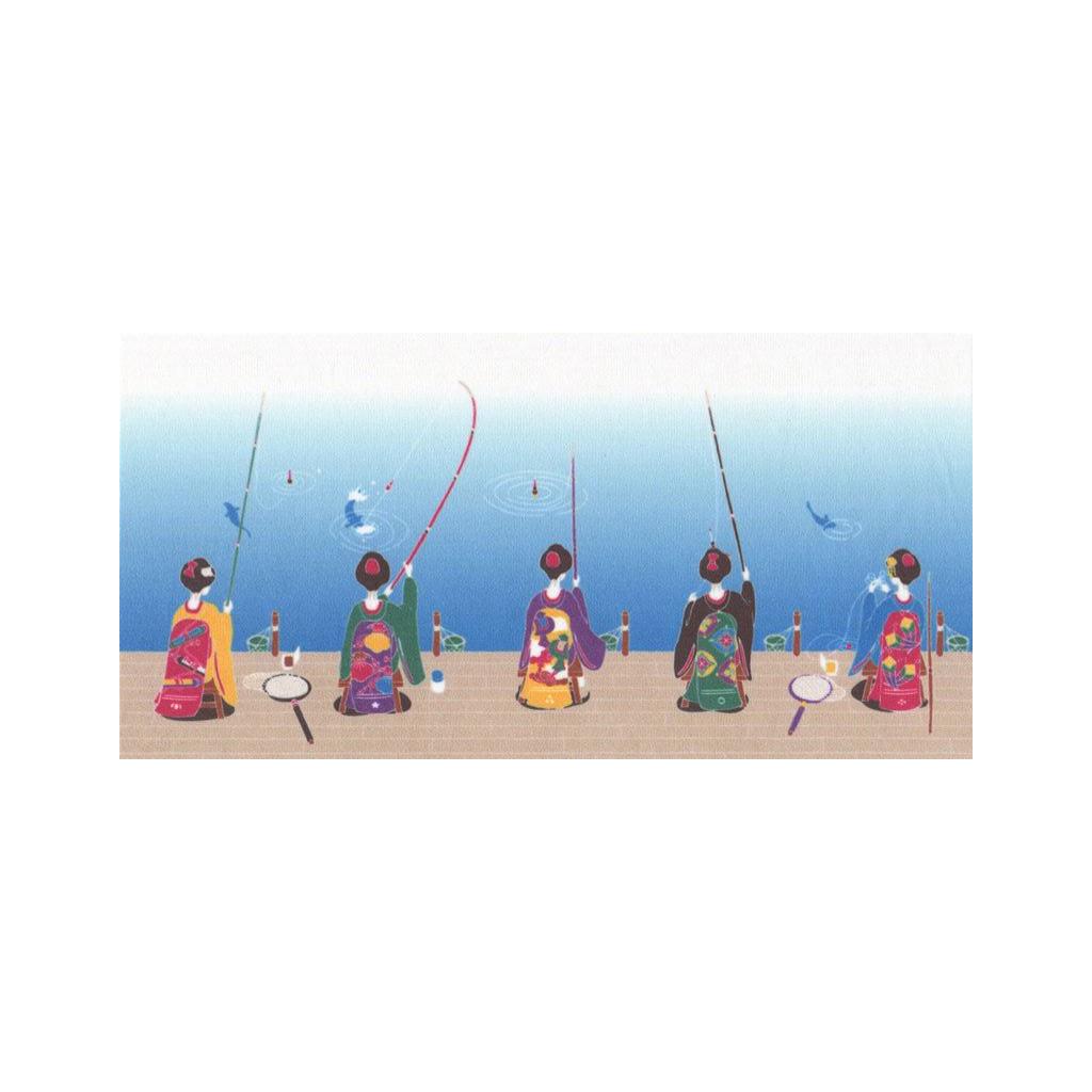 クリーニングクロス(小)「よー釣らはりますなぁ」