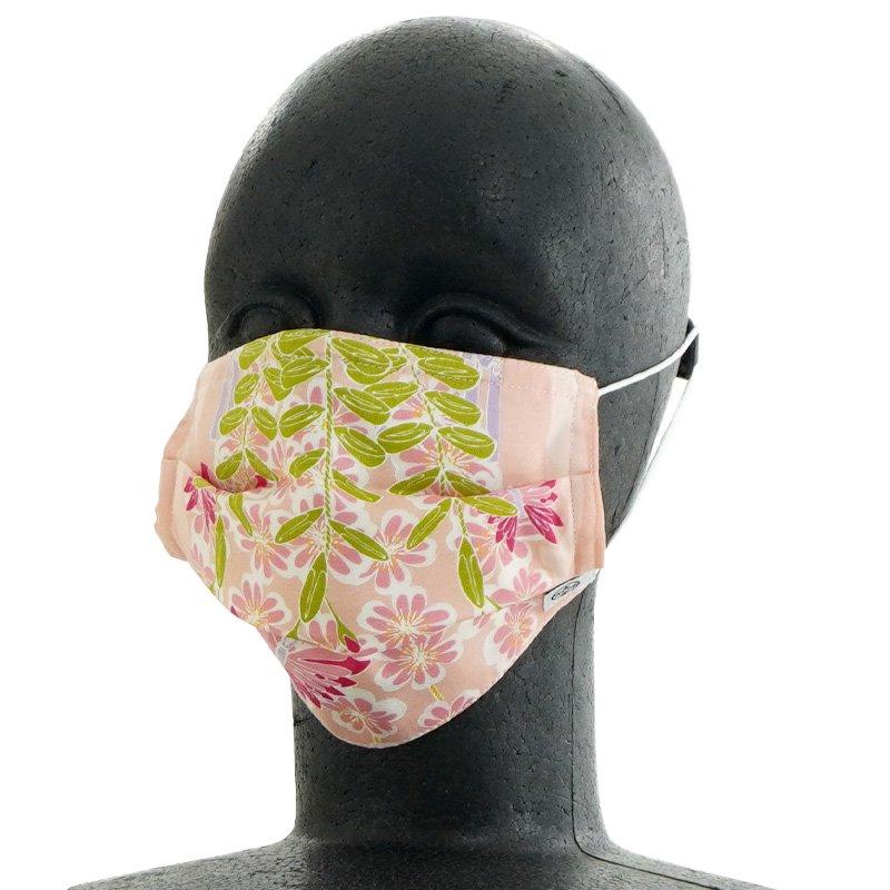 手ぬぐいマスク(三層) 「舞妓さんの花かんざし・春」