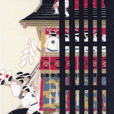 クリーニングクロス(小)「町家祇園祭」