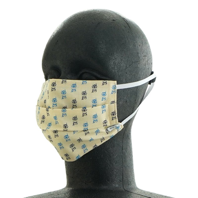 手ぬぐいマスク(二層) 「プチMOMO」