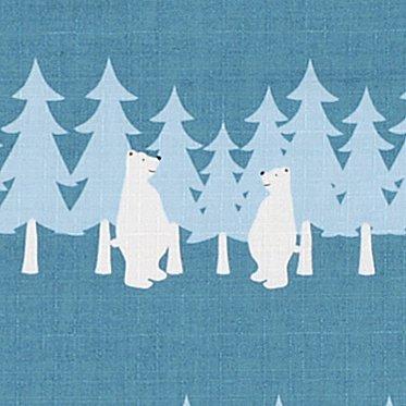 大風呂敷 「森のクマ」