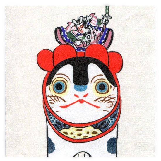 クリーニングクロス(小)「私は昔「桃太郎」と云われてました」