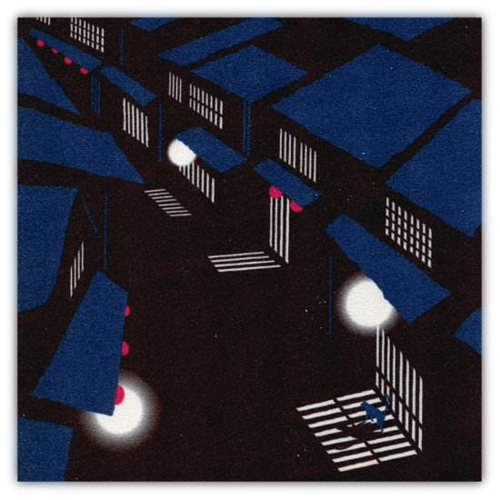 クリーニングクロス(小) 「夜景」