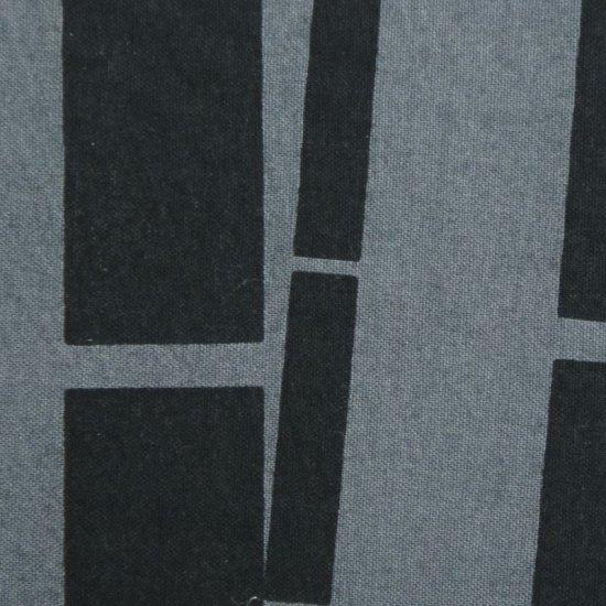 豆うちわ 並型 「竹」(ライトグレー/ブラック)