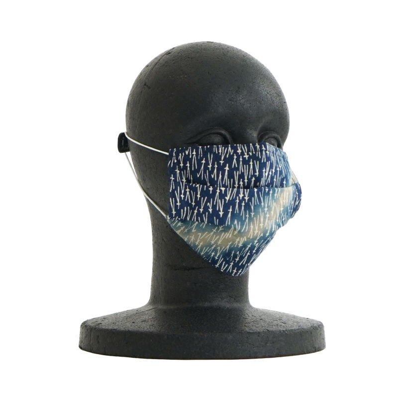 手ぬぐいマスク(三層) 「山道」