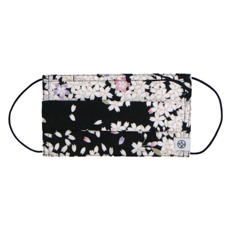 手ぬぐいマスク(三層) 「舞桜」