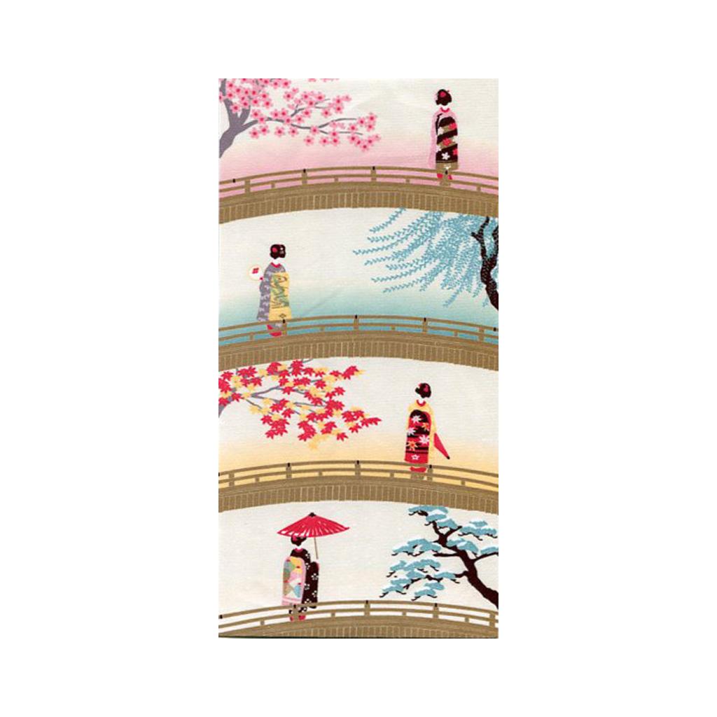 クリーニングクロス(小)「舞妓さんの四季」