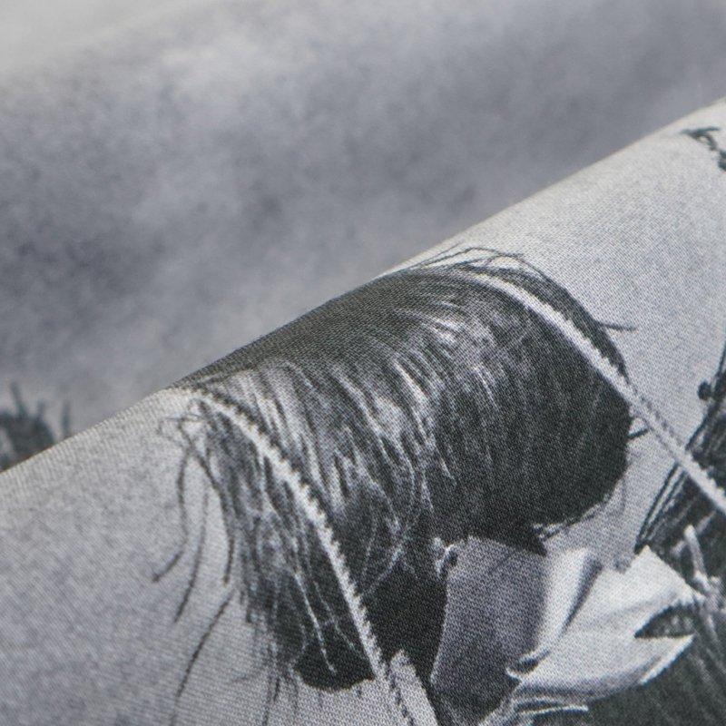 町家手拭  「モノクローム長刀鉾」(箔仕様)