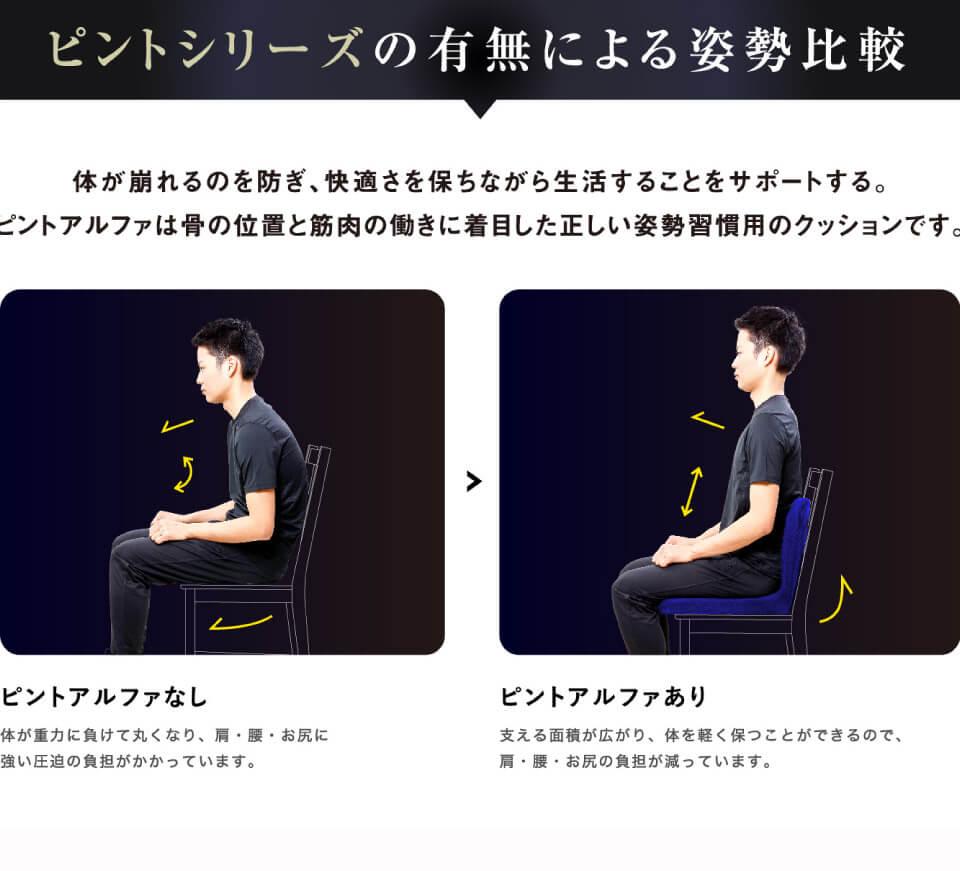 p!nto α ピントアルファ / 座る医療機器