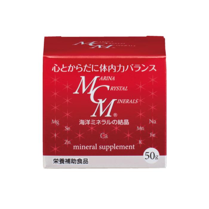 MCM粉末 50g / 海洋ミネラル / 粉末タイプ・水に溶ける天然ミネラル
