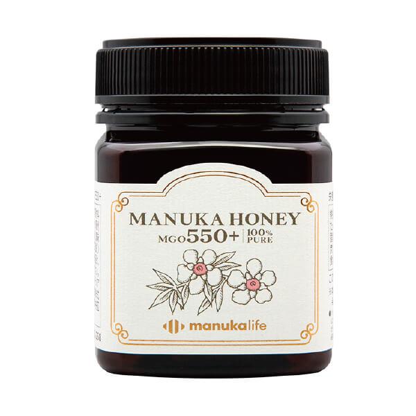 マヌカハニー MGO 550+ / 100%天然オーストラリア産蜂蜜 / 岩谷産業株式会社
