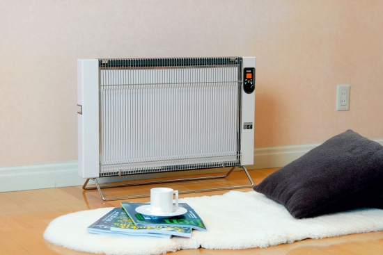 サンラメラ 1201型(ホワイト) / 遠赤外線暖房機 / カラダの芯からポカポカ