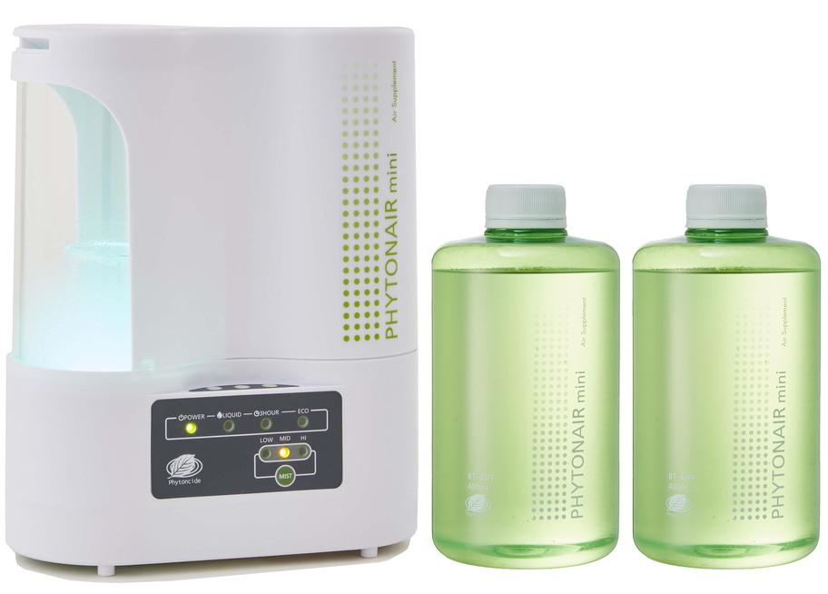 フィトンエアーミニ SD-1000SP(溶液カートリッジ 400ml 2本同梱) /  フィトンチッド拡散装置 /  フィトンチッドジャパン株式会社