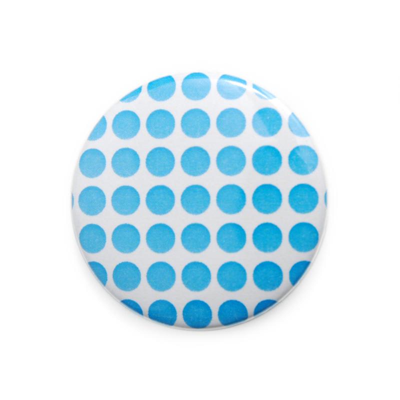 缶バッジ 柄・模様シリーズ 005 水玉 (pattern series)
