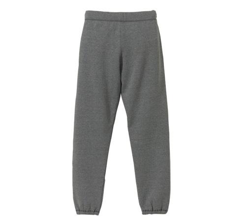 ガールズ CVCスウェット パンツ rucca 1340-04 8.3oz サイズ:M カラー:ブラック (裏起毛)(UVカット)