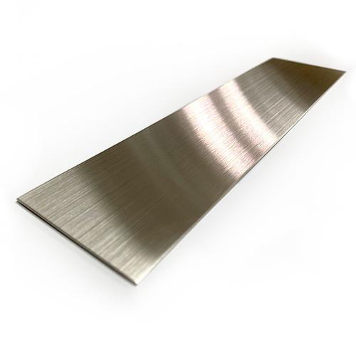 ステンレス製板(SUS304)片面研磨品(ヘアーライン仕上げ)