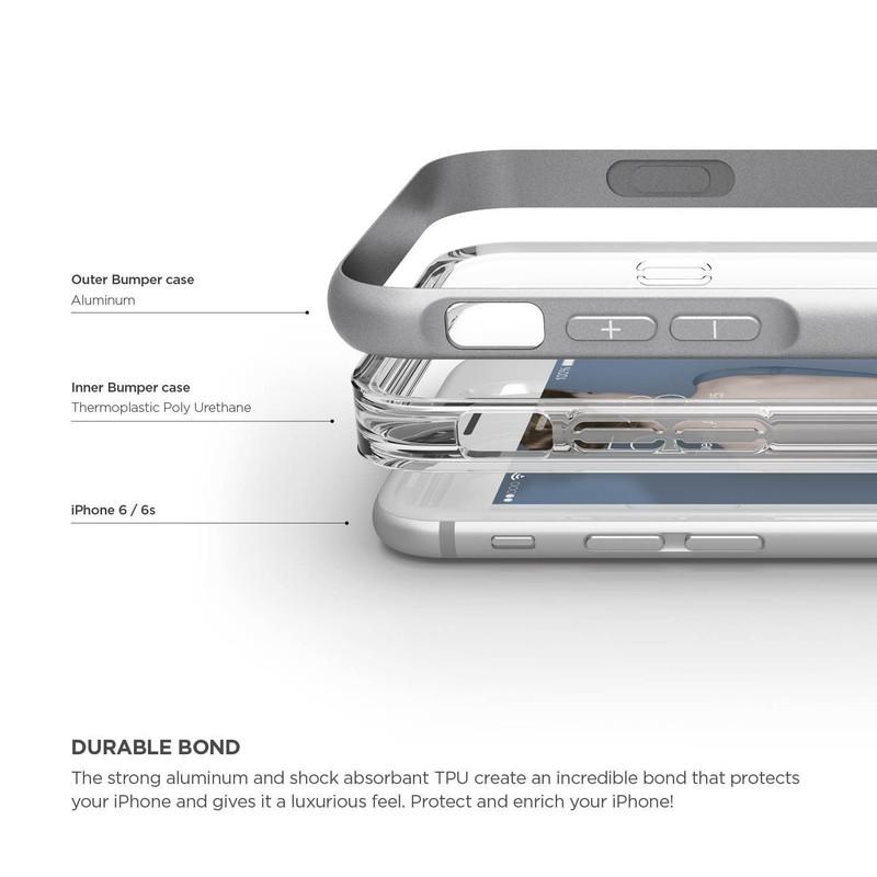 elago S6 ALUMINUM BUMPER for iPhone6s