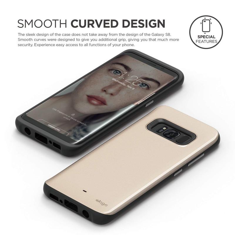 elago GA8 GRIP CUSHION for Galaxy S8