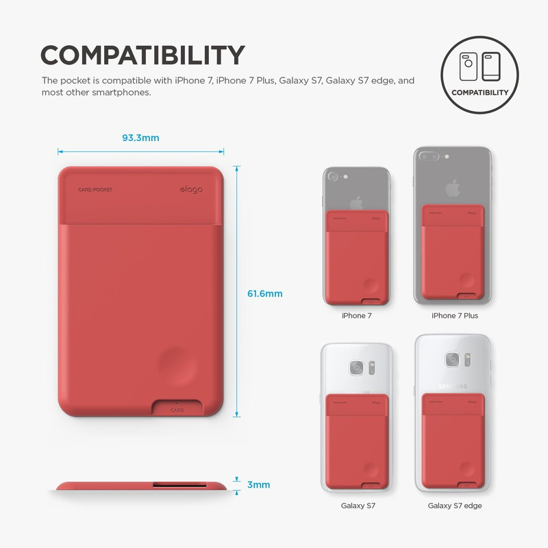 elago CARD POCKET for SMART PHONE
