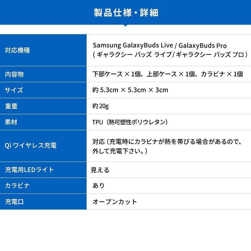 elago CLEAR CASE (BUDS) for Galaxy Buds Live / Galaxy Buds Pro