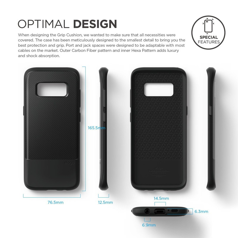 elago GA8P GRIP CUSHION for Galaxy S8 Plus