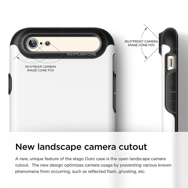 elago S6 DURO BLACK for iPhone6/6s