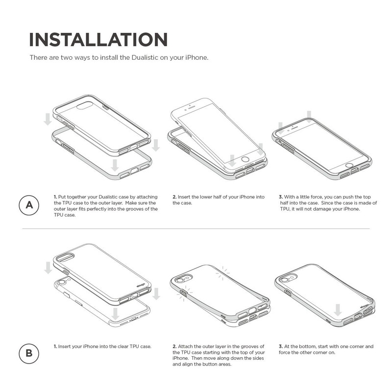 elago S7 DUALISTIC for iPhone7