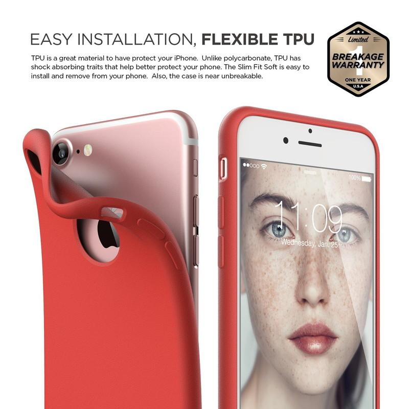 elago S7 SLIM FIT SOFT for iPhone8/7