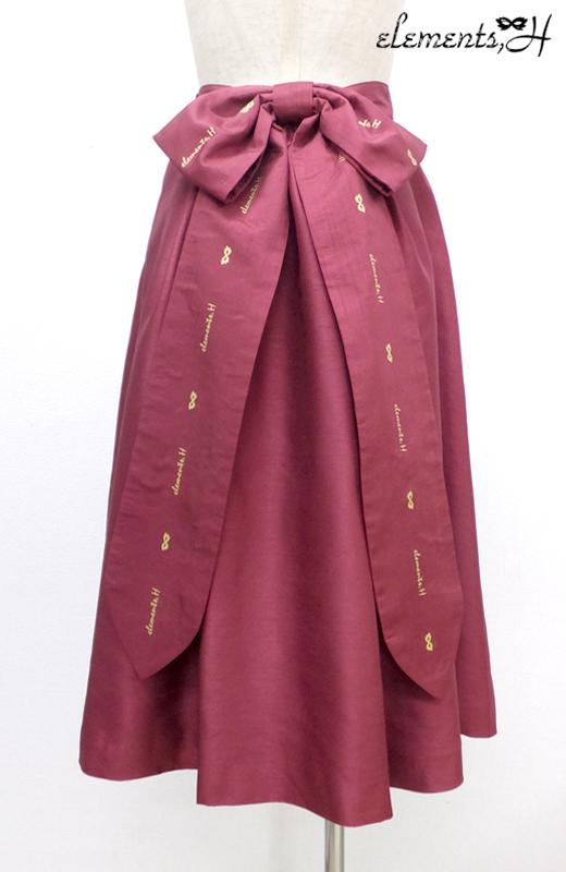 Backリボンスカート 082503P