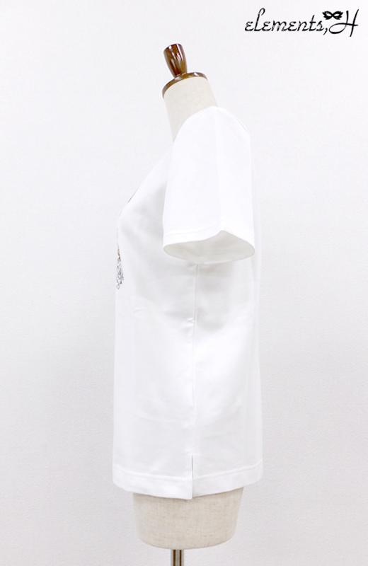 白鳥プリントTシャツ 091719G