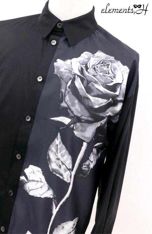 MENS Sculpture Rose シャツ 591401P