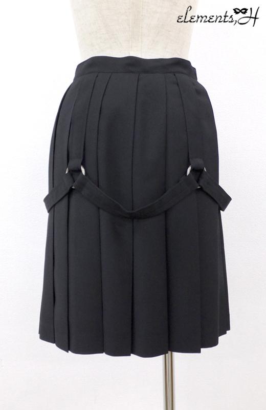 ボンデージプリーツスカート 062503P