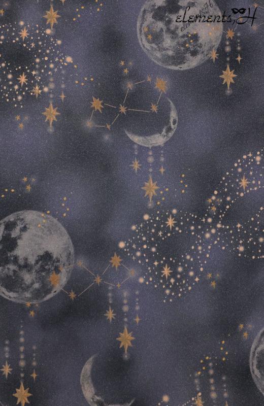 Moon printスカート 062502G