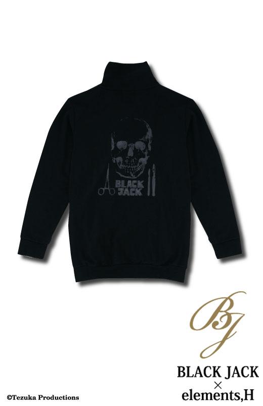 ブラック・ジャック×elements,H コラボ パーカ 051704H