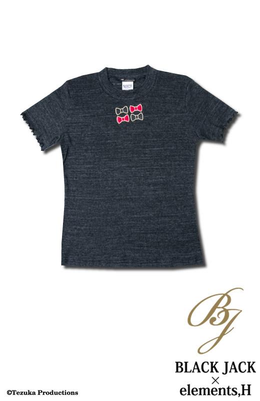 ブラック・ジャック×elements,H コラボ ピノコカットソー 051705H
