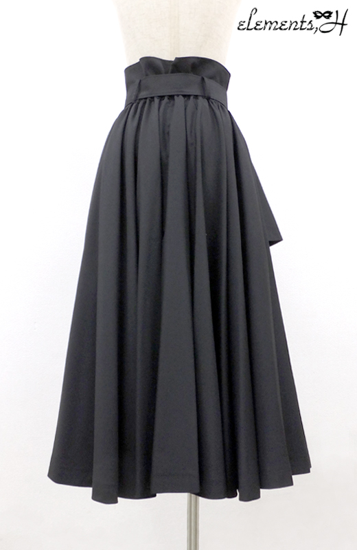 トレンチフレアスカート 081501P