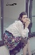 ニードルプリントスカート 062501G