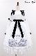 【予約商品】SWAN柄ワンピース 091301G