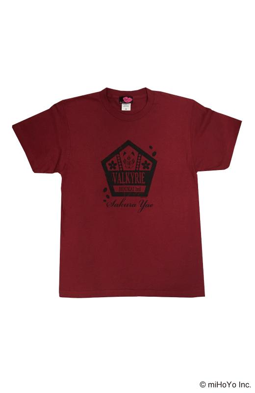 カレッジ風Tシャツ【崩壊3rd】