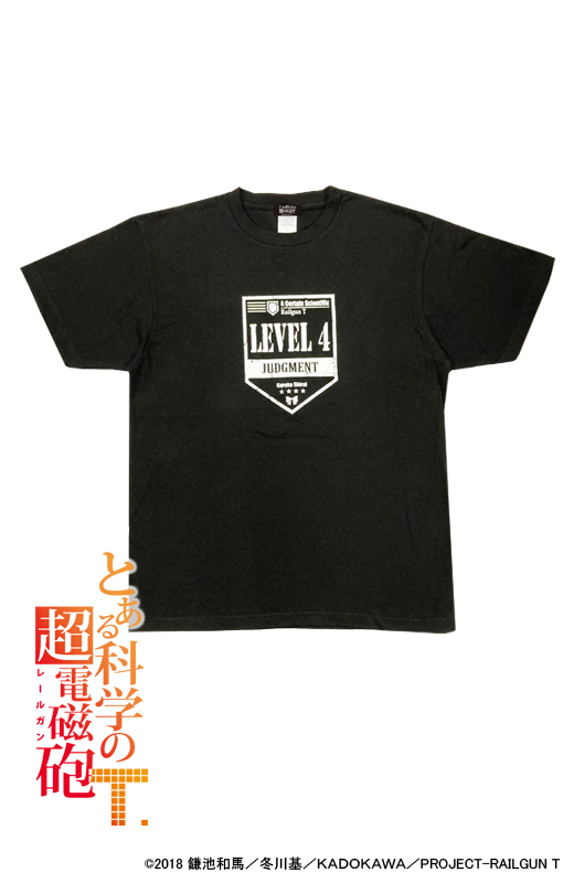 Tシャツ(白井黒子)【とある科学の超電磁砲T】
